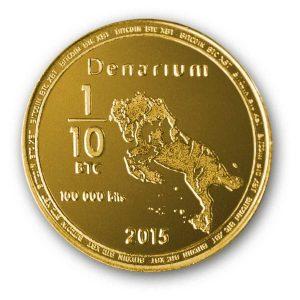 Denarium Bitcoin 100k bits physical bitcoin