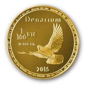 Denarium Bitcoin 10k bits physical bitcoin