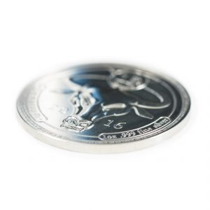 Denarium 1 BTC silver physical bitcoin promo