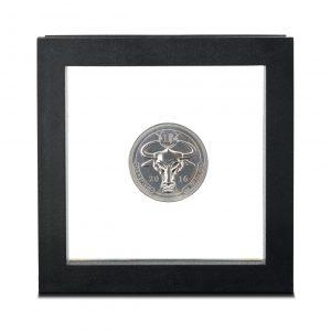 Denarium 1 BTC silver in coinbox #2