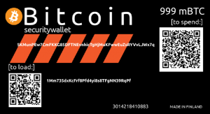 Security wallet BIP38