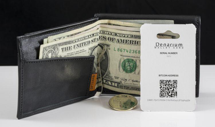 Denarium Wallet Card