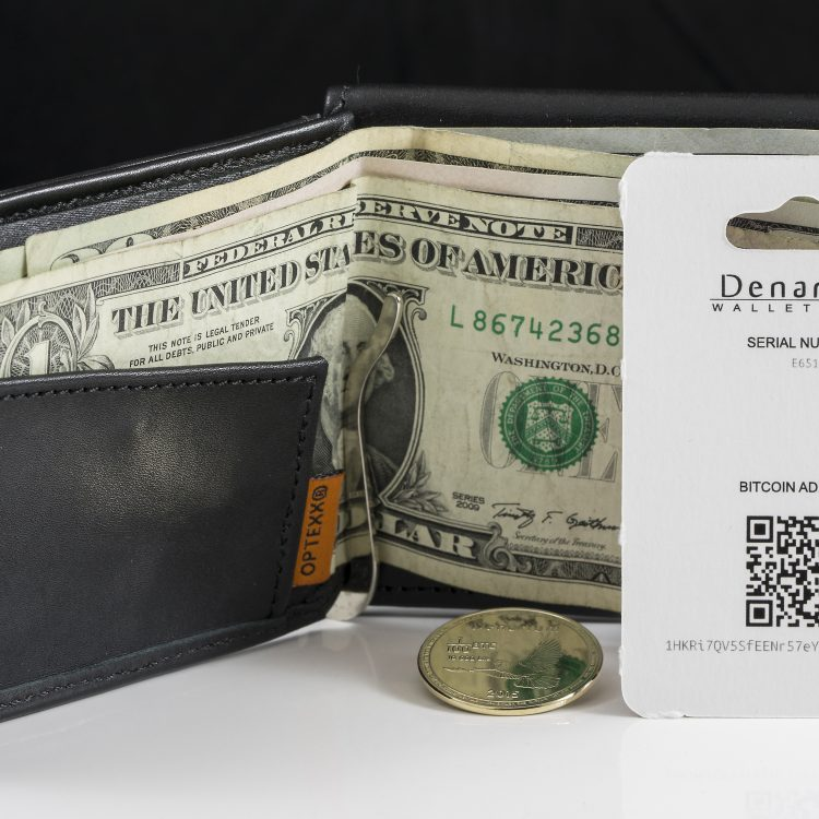 Denarium Wallet Card