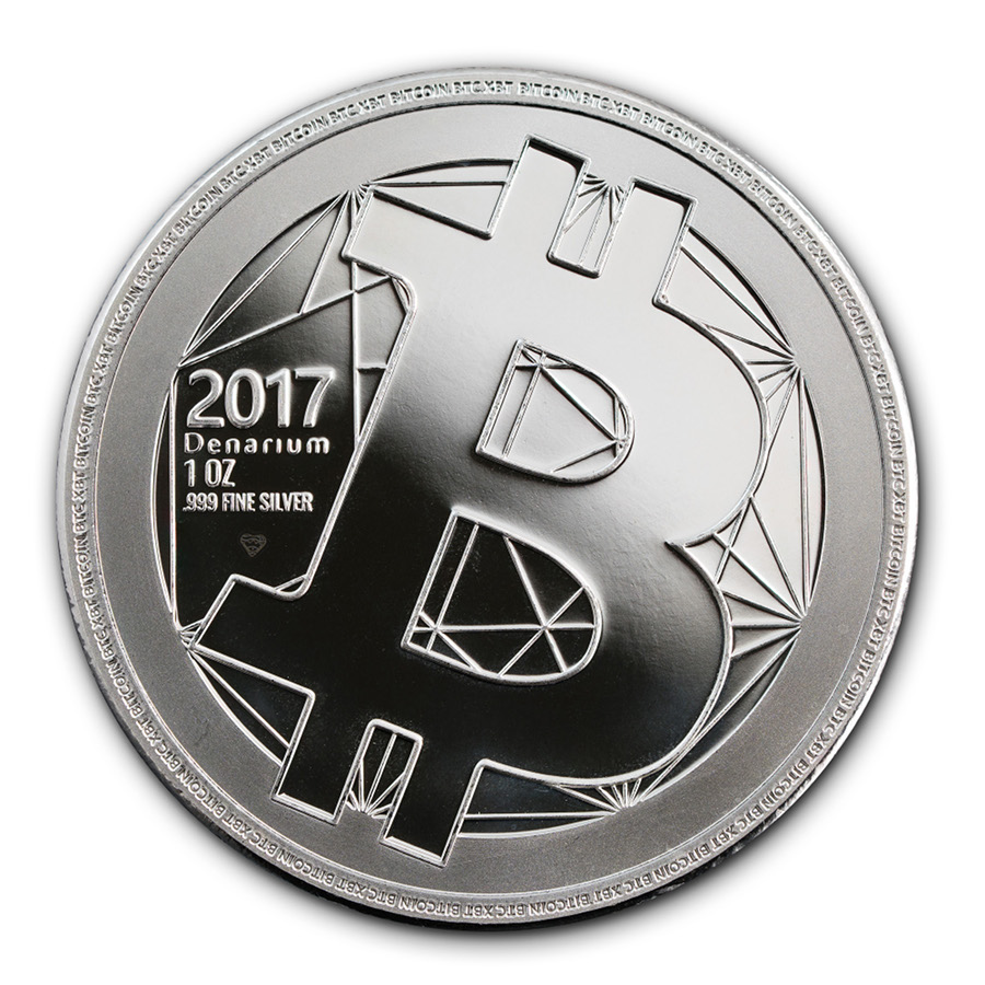 Denarium bitcoin professional physical bitcoin manufacturer gold new silver coin now available ccuart Gallery