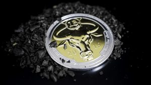 Denarium 1 BTC Silver Golden Edition Promo Dark