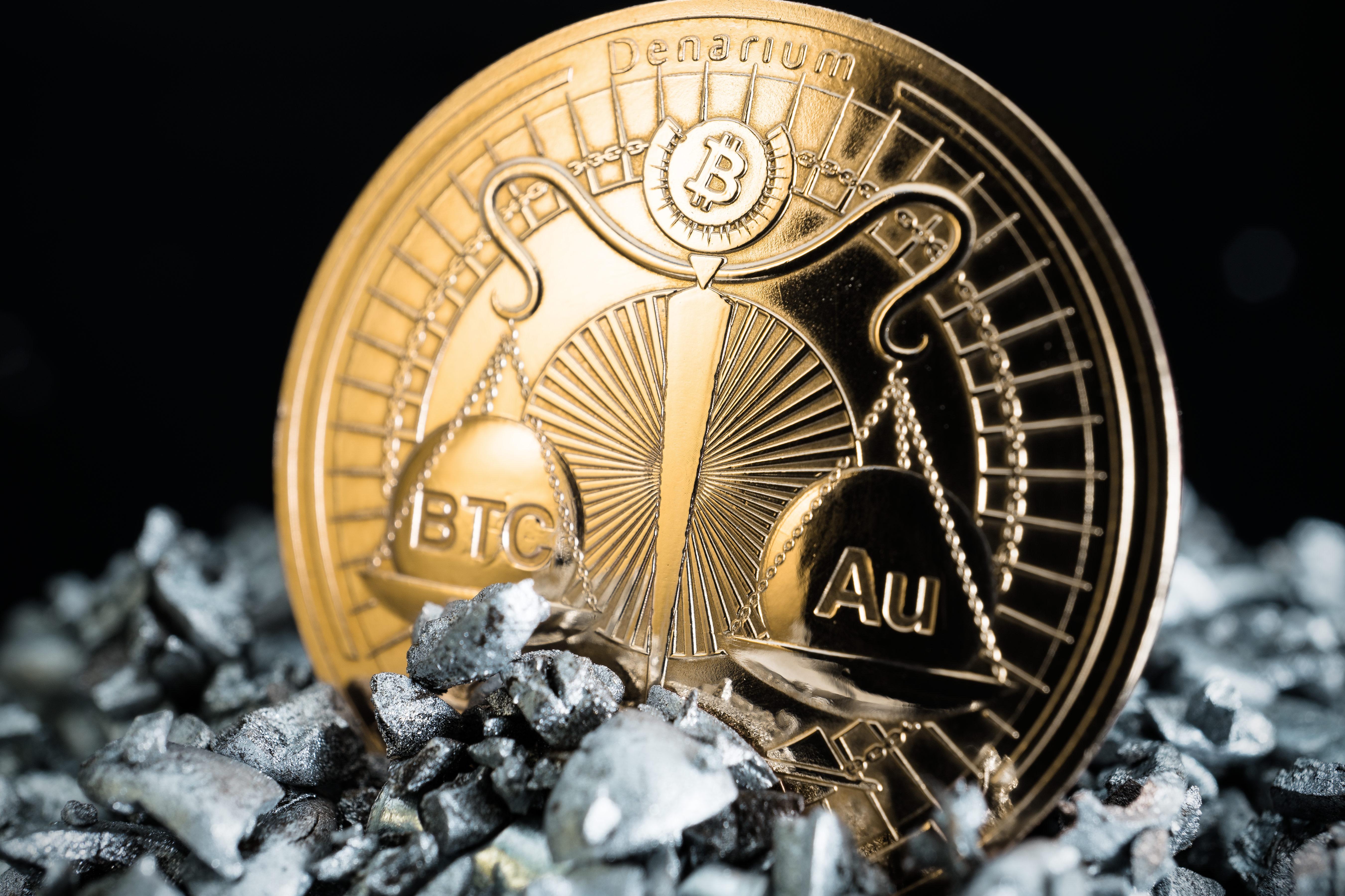 physical bitcoin gold