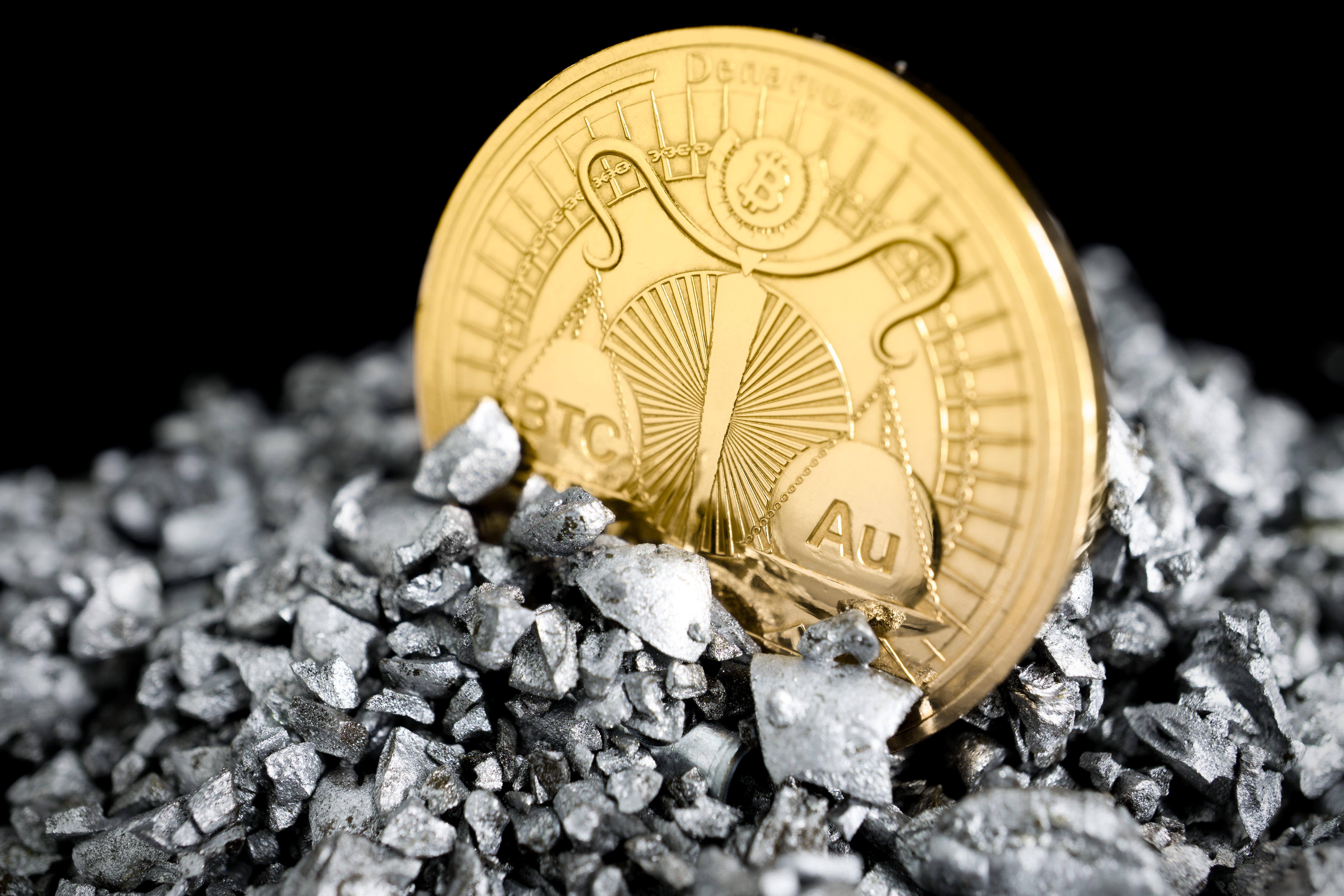 gold coin, bitcoin wallet, denarium, physical bitcoin, proof quality, .999 gold, 1 oz gold
