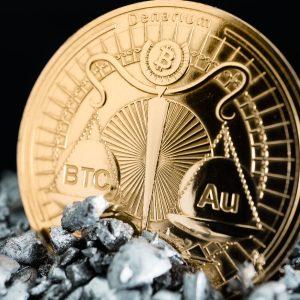 Denarium Bitcoin Gold parity Coin promo 3