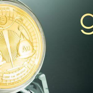 Denarium Bitcoin Parity Gold Coin