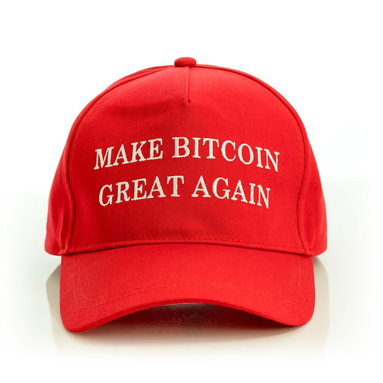 Official Make Bitcoin Great Again Hat front