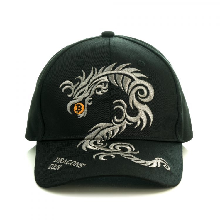 Official Bitcoin Dragons Den Hat front