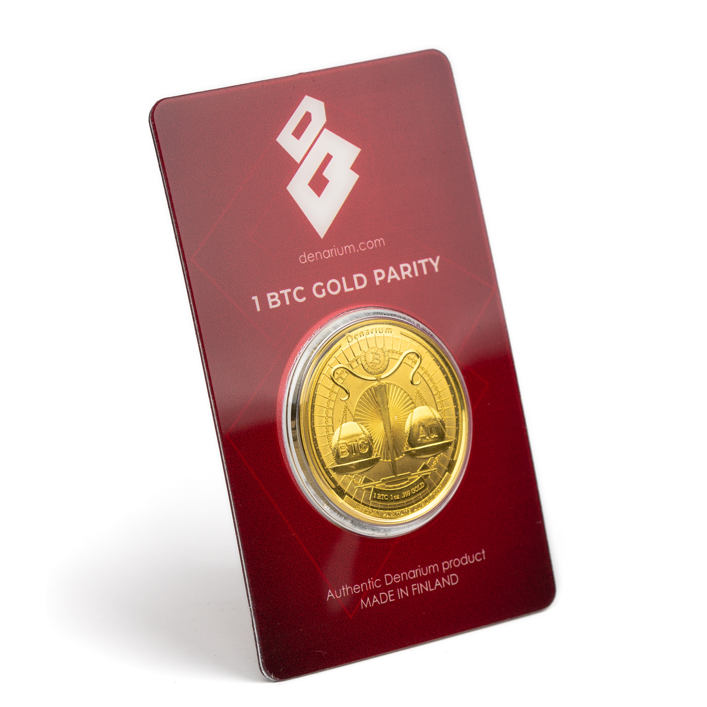 Now We Have A Gold Bitcoin Wallet