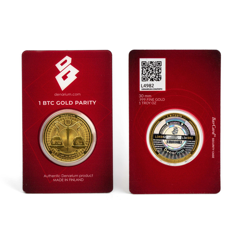 Denarium 1 BTC Gold