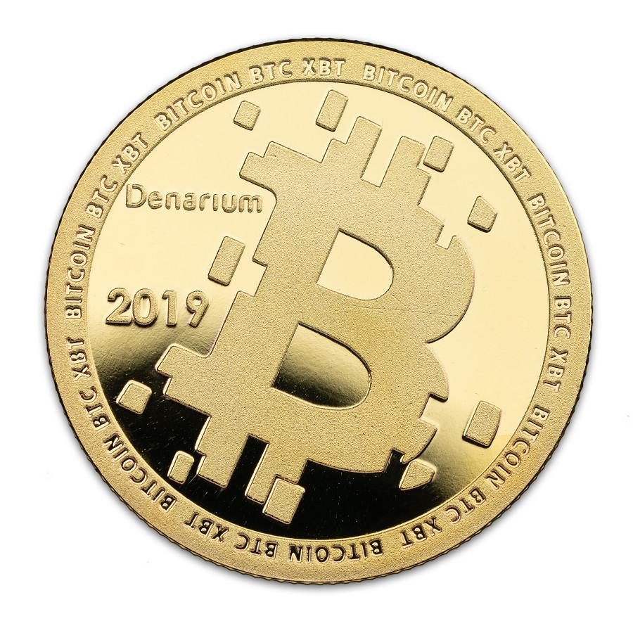 Denarium Custom Gold Plated 2019