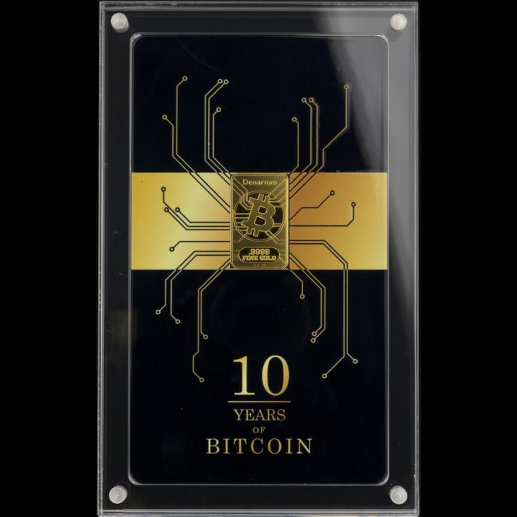 Denarium Bitcoin Decennium 2019